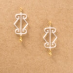 Crystal Logo Earrings