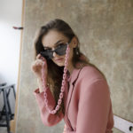 PINK SUNGLASSES CHAIN